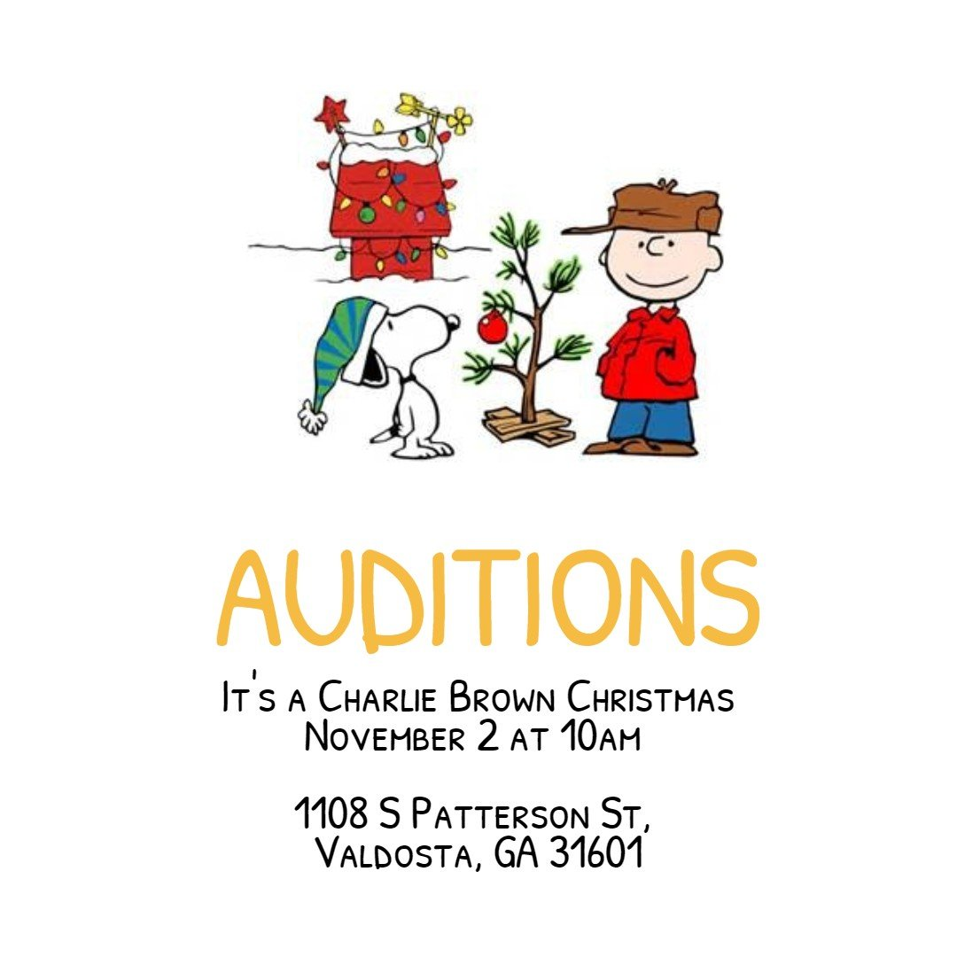 little actors theatre auditions charlie brown christmas